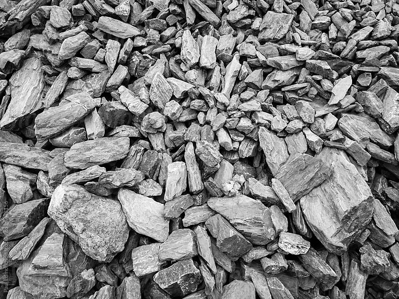 Pile of fractured rocks and boulders, Central Cascades by Paul Edmondson for Stocksy United