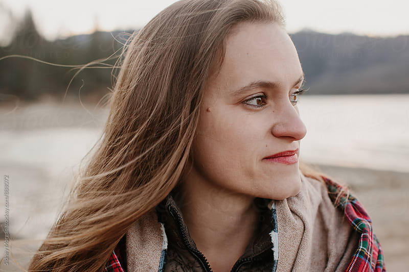Kate on the Lake by Sidney Morgan for Stocksy United