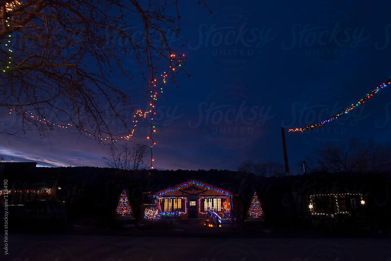 Roadside Christmas by yuko hirao for Stocksy United