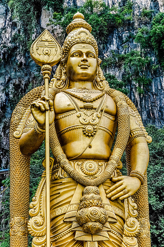 hindu statue by Andreas Gradin for Stocksy United