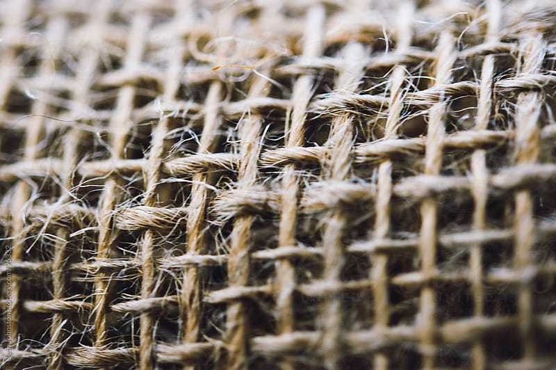 Burlap Closeup by Beth Grimes for Stocksy United