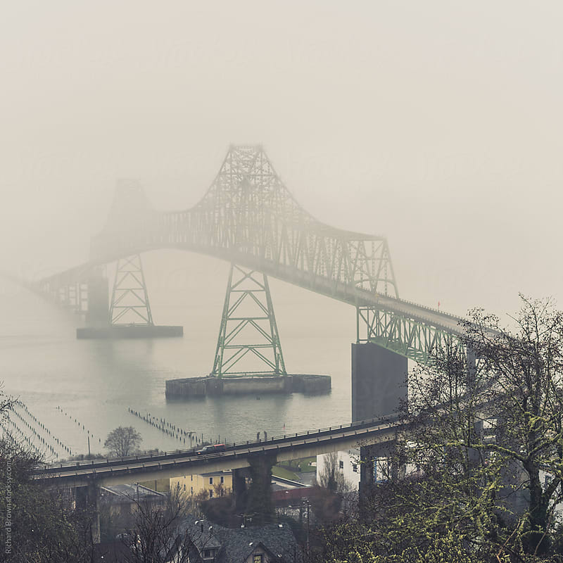 Astoria Bridge, Oregon by Richard Brown for Stocksy United