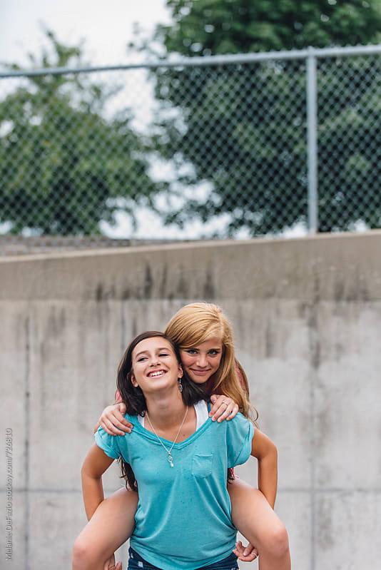 Best Friends by Melanie DeFazio for Stocksy United