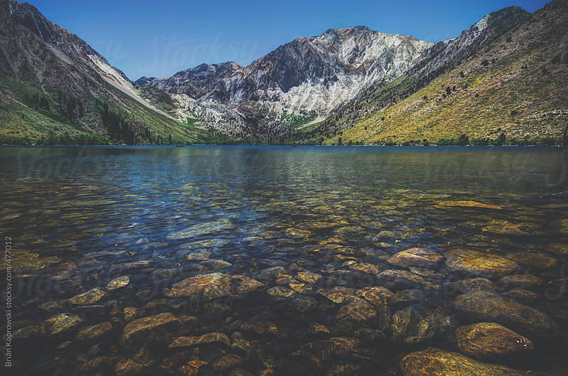 Convict Lake 2 by Brian Koprowski for Stocksy United