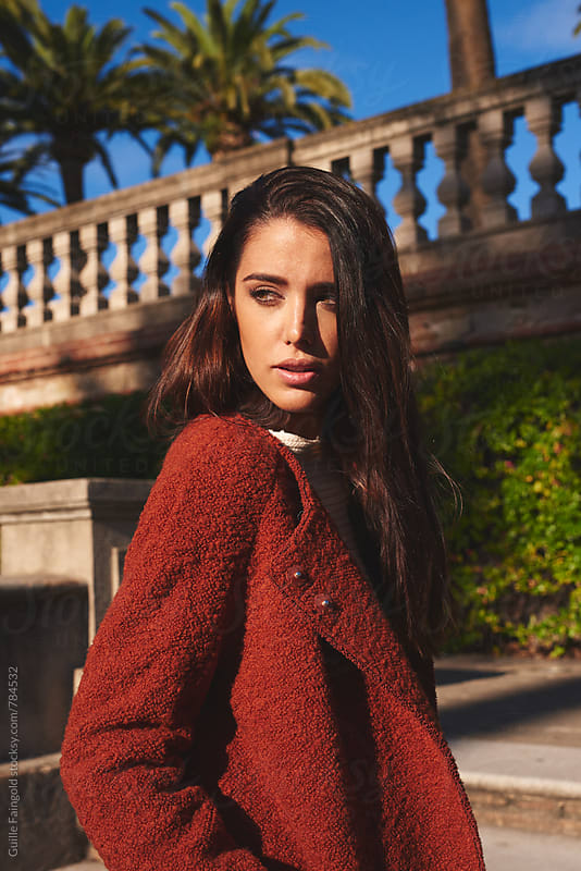 Elegant fashion young woman by Guille Faingold for Stocksy United