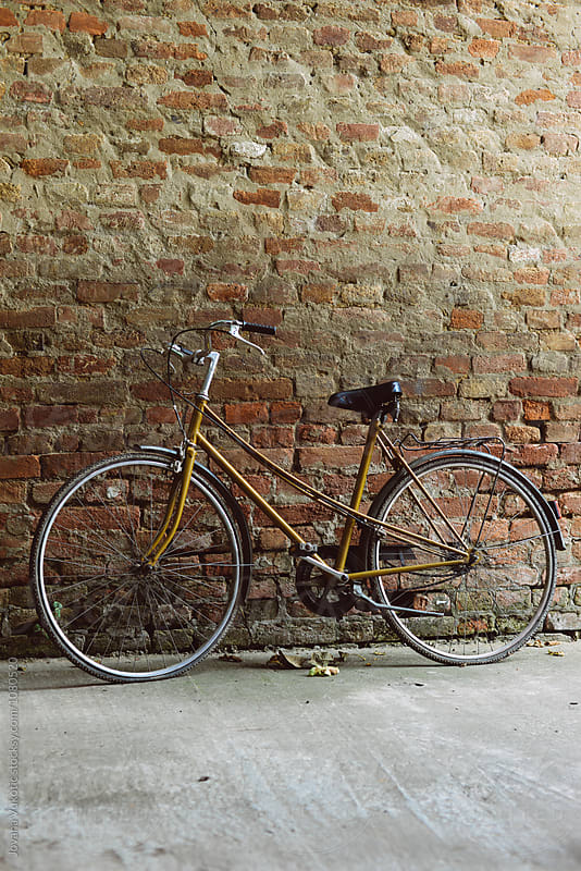 retro bicycle by Jovana Vukotic for Stocksy United