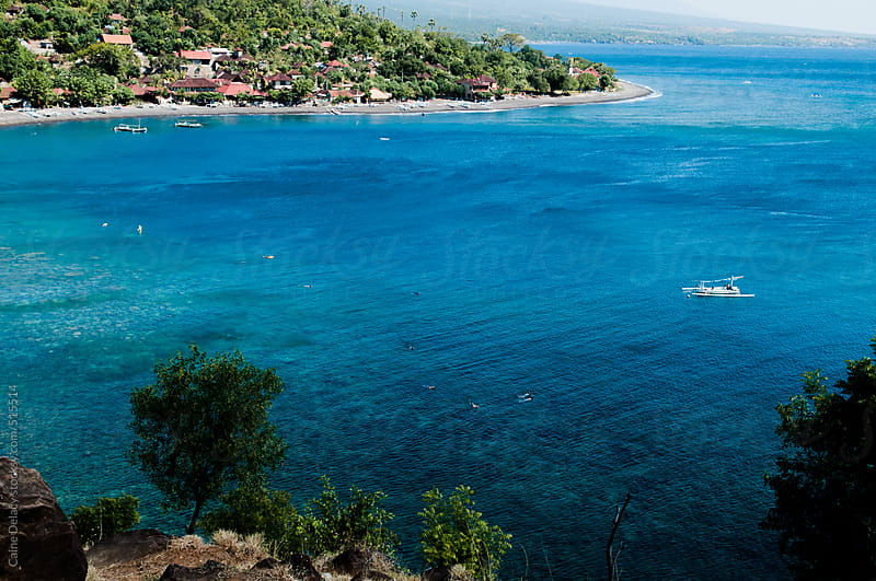 Jemeluk Bay, Amed, Bali, Indonesia by Caine Delacy for Stocksy United