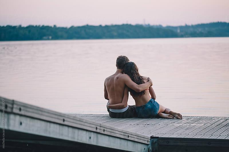 Romantic couple by michela ravasio for Stocksy United