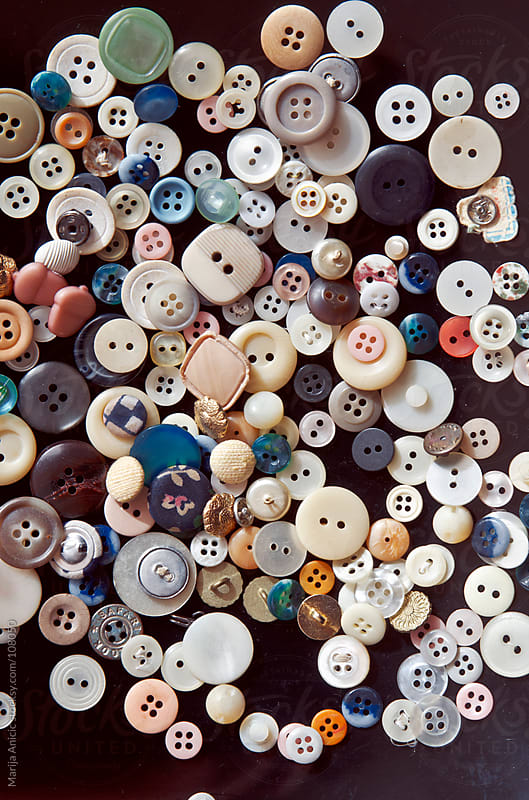 a lot of colorful buttons by Marija Anicic for Stocksy United