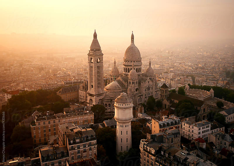 The Sacred Heart of Paris by Amos Chapple for Stocksy United