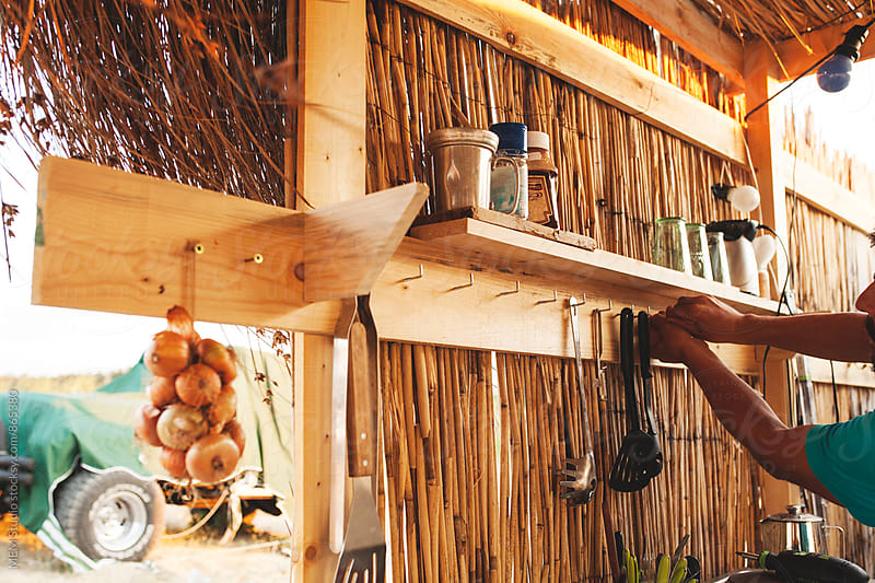 Camp kitchen by MEM Studio for Stocksy United