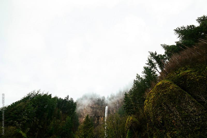 Multnomah Falls, Oregon by Evan Dalen for Stocksy United