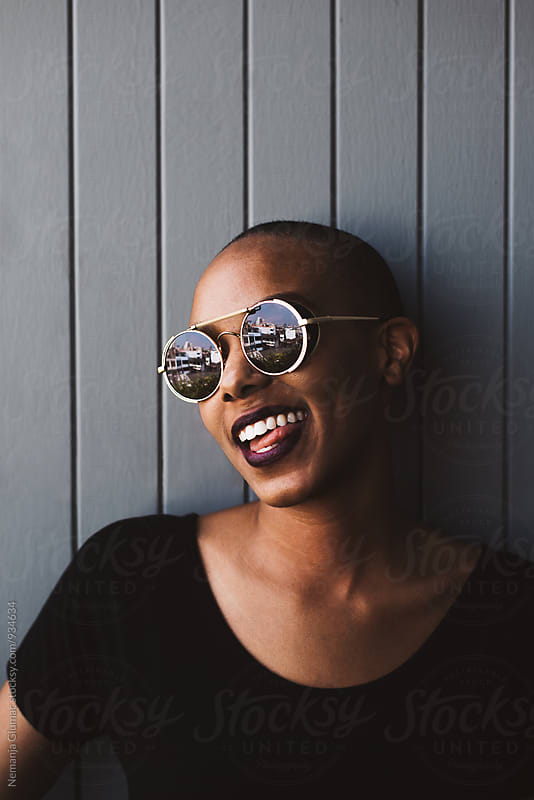 Silly African American Woman Making Funny Face by Nemanja Glumac for Stocksy United