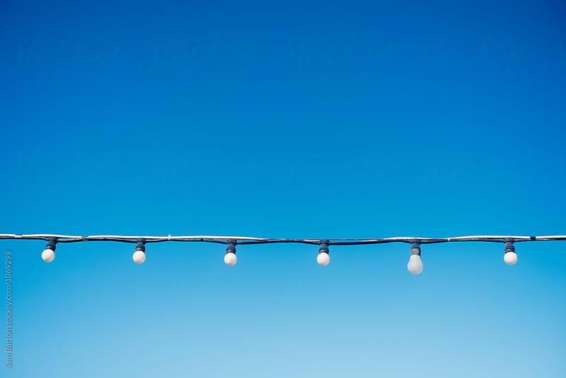 Light bulbs by Sam Burton for Stocksy United