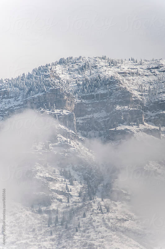 Snow-capped Mountains by Anthon Jackson for Stocksy United