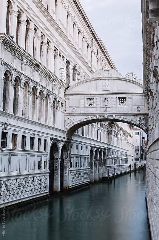Ponte dei Sospiri, Bridge of Sighs in Venice Italy by Alberto Bogo for Stocksy United