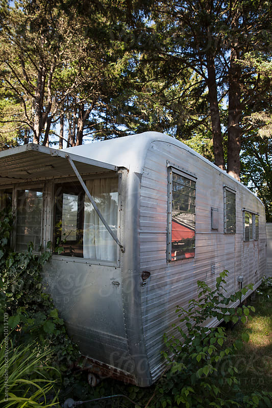 Vintage Camping Trailer by Carey Haider for Stocksy United