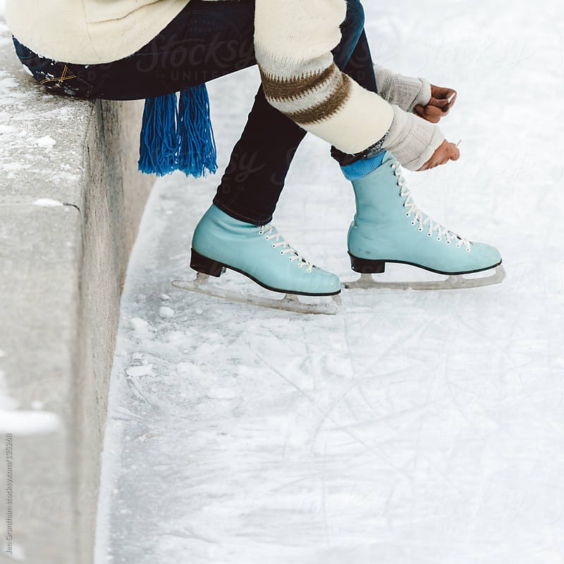 Ice Skating by Jen Grantham for Stocksy United