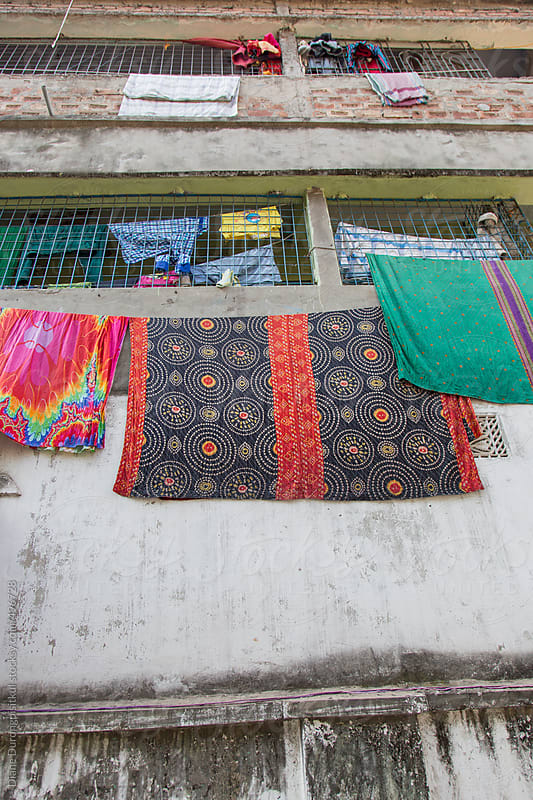 Sari Laundry Day by Diane Durongpisitkul for Stocksy United