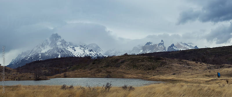 Beautiful landscape with Mt Fitz Roy in Patagonia, South America by Gabriel Diaz for Stocksy United