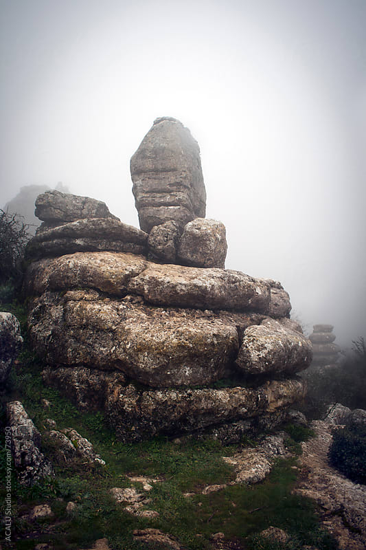 Rocks in the Torcal de Antequera by ACALU Studio for Stocksy United
