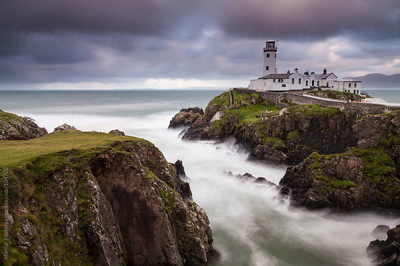 Fanad Head Lighthouse by Marilar Irastorza for Stocksy United