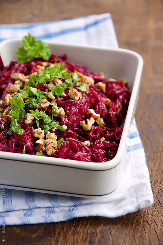 Russian Beet Salad by Harald Walker for Stocksy United