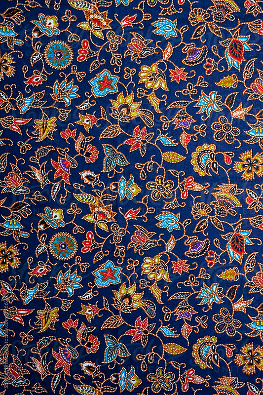 Background of a vibrant flowery pattern. by Shikhar Bhattarai for Stocksy United