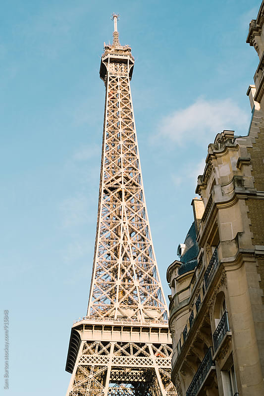 Eiffel Tower by Sam Burton for Stocksy United