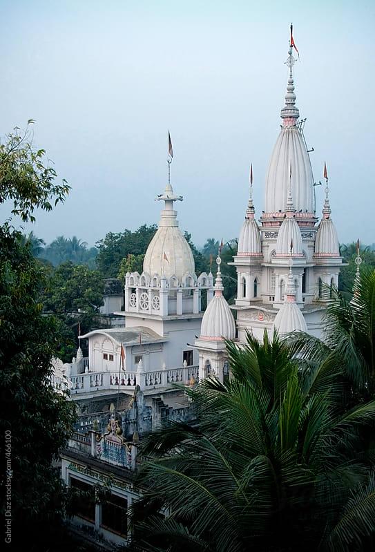 Vaishnava Temple. Nabadwip, India. by Gabriel Diaz for Stocksy United