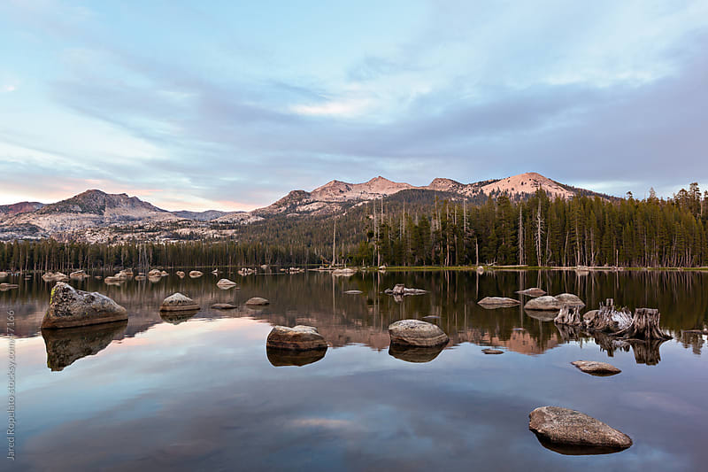 Just Wright, Wrights Lake by Jared Ropelato for Stocksy United