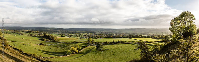 English countryside - panorama by Jon Attaway for Stocksy United