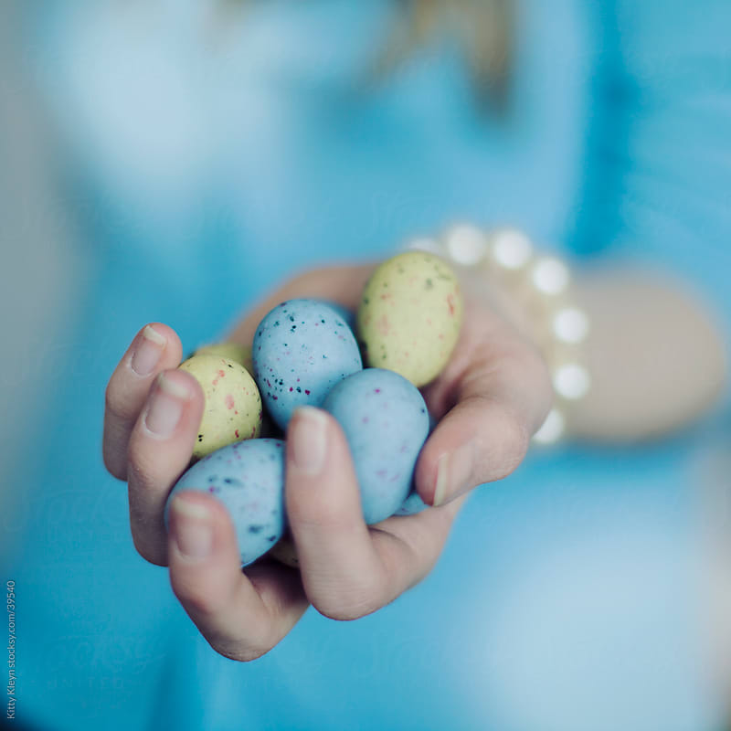 Easter eggs by Kitty Gallannaugh for Stocksy United