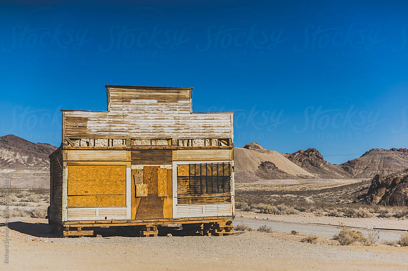Ghost Town in Nevada by Richard Brown for Stocksy United