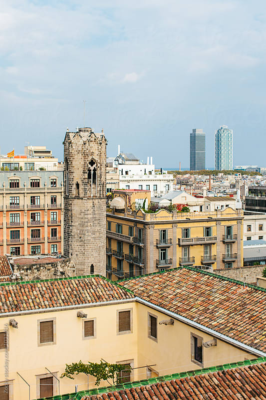 Barcelona View by Zocky for Stocksy United