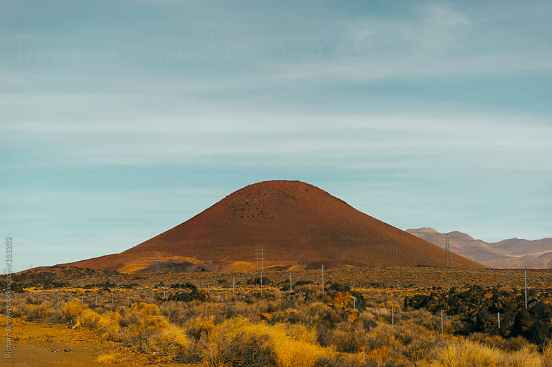 Red Hill Cinder Cone, Nevada by Richard Brown for Stocksy United