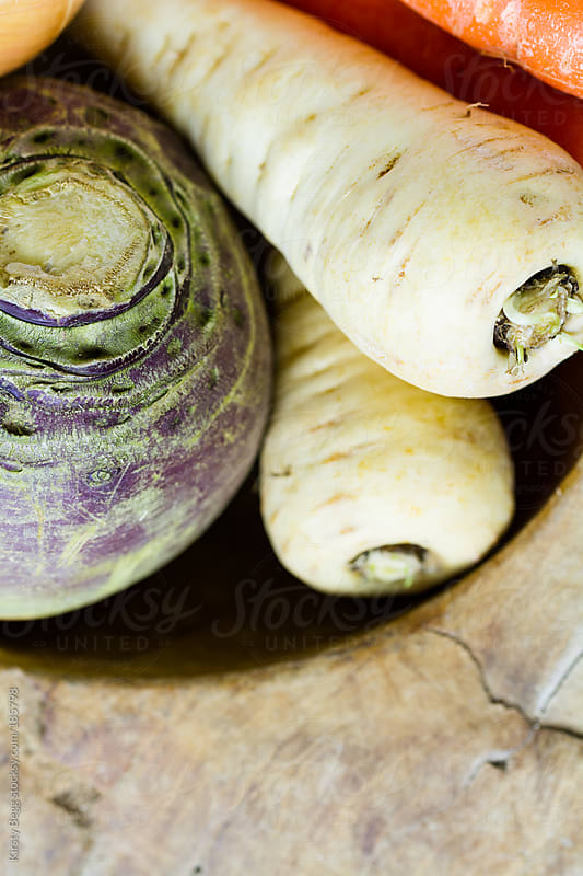 Root vegetables by Kirsty Begg for Stocksy United