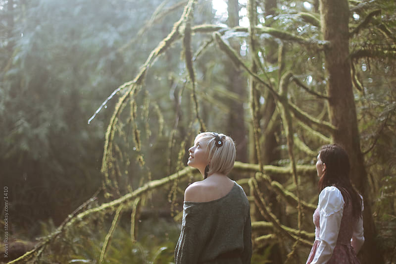 Rain Forest Women by Kevin Russ for Stocksy United