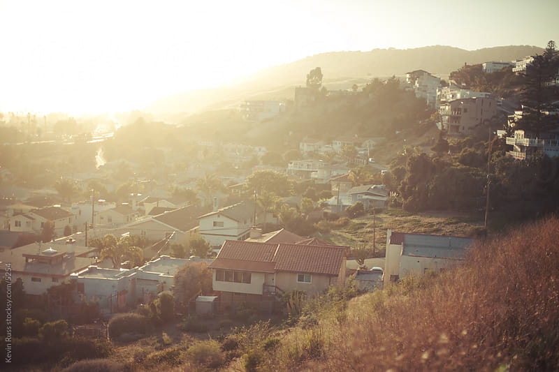 Pismo Beach Sunset by Kevin Russ for Stocksy United