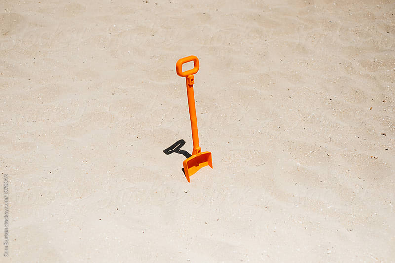 Beach spade by Sam Burton for Stocksy United