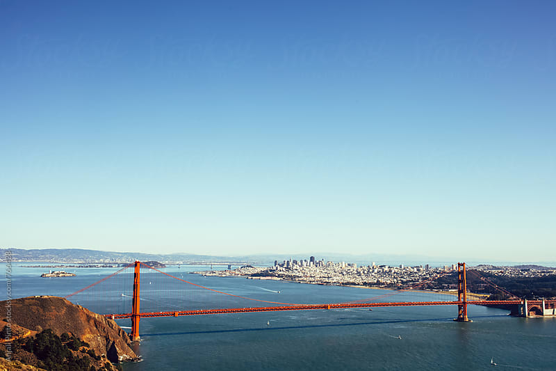 San Francisco from Across the Bay by Anjali Pinto for Stocksy United
