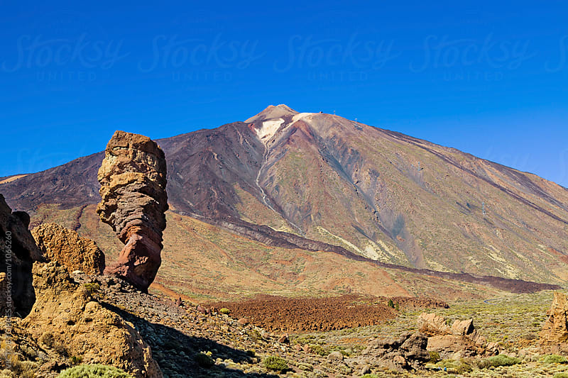 Roques de Garcia and Teide National Park, Tenerife by Victor Torres for Stocksy United