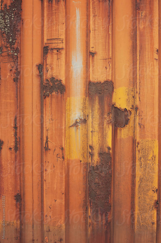 Rusty background.  by Mosuno for Stocksy United