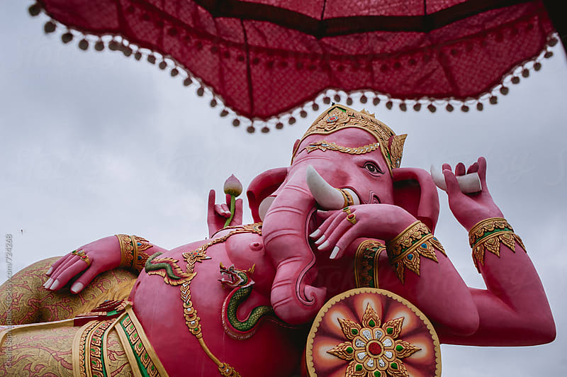 Ganesh by Chalit Saphaphak for Stocksy United