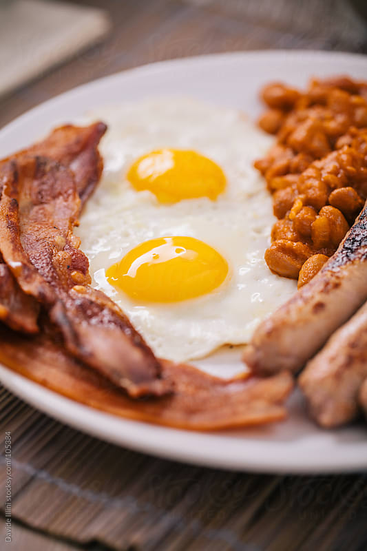 Full English Breakfast by Davide Illini for Stocksy United