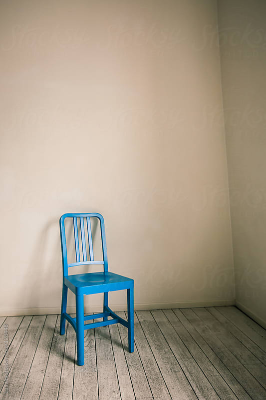 Blue Chair by Lumina for Stocksy United