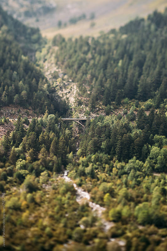 old bridge in the mountains by Javier Pardina for Stocksy United
