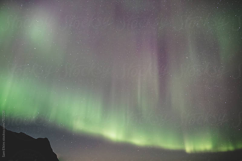 Aurora Borealis by Sam Elkins for Stocksy United