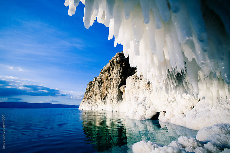 Dead Sea salt crystals, Jordan by Micky Wiswedel for Stocksy United