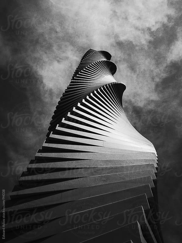 Sky Beam by Edward Adios for Stocksy United